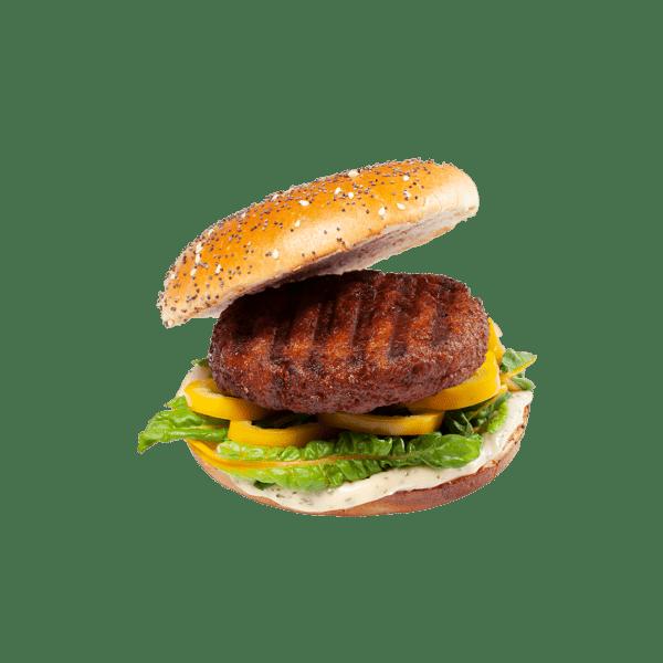 packshot hopper burger